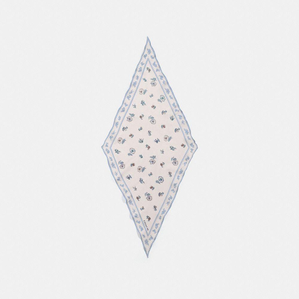 메도우 프레리 프린트 실크 다이아몬드