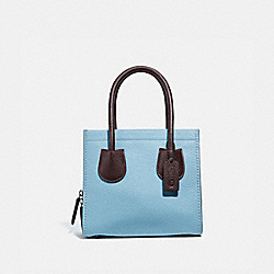 CASHIN CARRY TOTE 22 IN COLORBLOCK - V5/WATERFALL MULTI - COACH 732