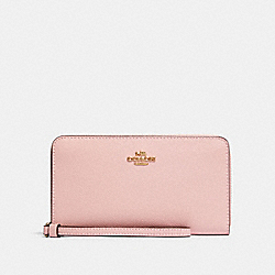 LARGE PHONE WALLET - IM/BLOSSOM - COACH 73413