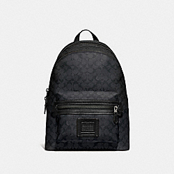 ACADEMY BACKPACK IN SIGNATURE CANVAS - QB/CHARCOAL - COACH 73579