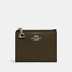 SNAP CARD CASE - SV/CARGO GREEN - COACH 73867