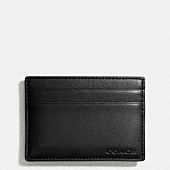 BLEECKER LEGACY MONEY CLIP CARD CASE