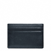 BLEECKER LEATHER ID CARD CASE