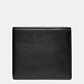 BLEECKER LEATHER MONEY CLIP SINGLE BILLFOLD