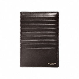 BLEECKER SIGNATURE ZIP CARD CASE