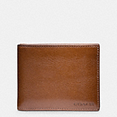 BLEECKER LEATHER SLIM BILLFOLD ID