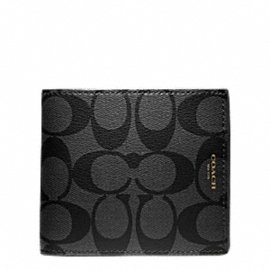 BLEECKER SIGNATURE COIN WALLET