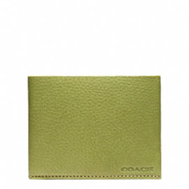 BLEECKER PEBBLED LEATHER SLIM BILLFOLD