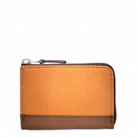 Bleecker Canvas Half Zip Wallet