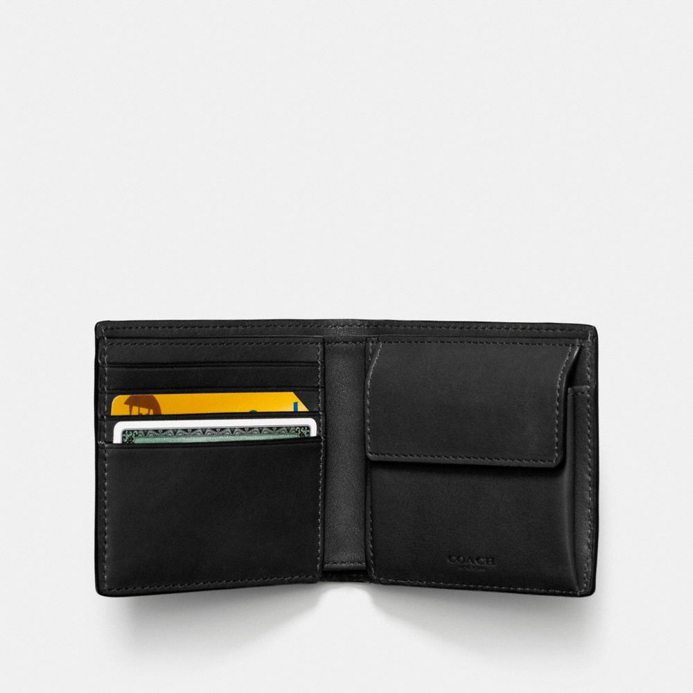 COIN WALLET IN SPORT CALF LEATHER - Alternate View
