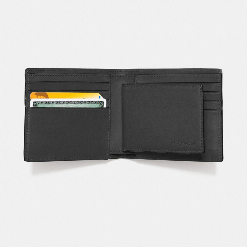Compact Id Wallet in Sport Calf Leather - Alternate View L1