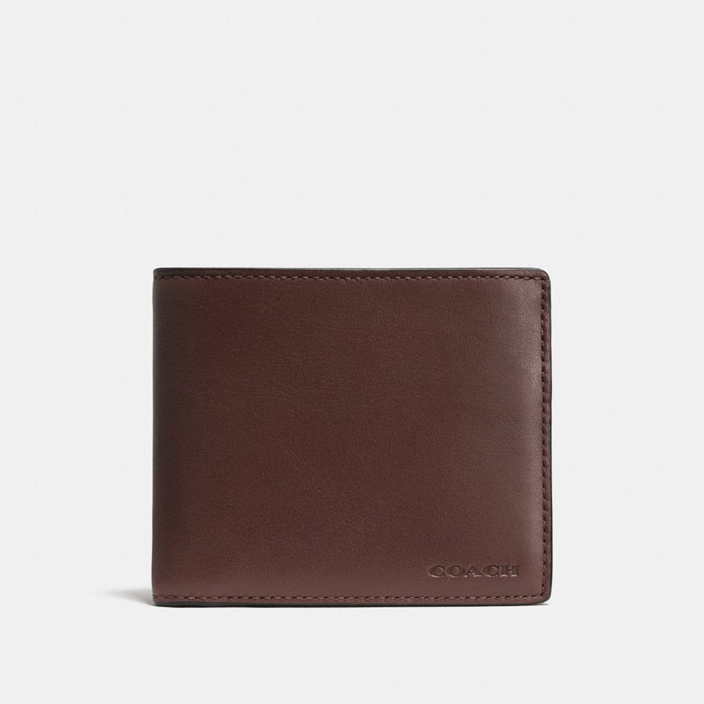 Coach Compact Id Wallet