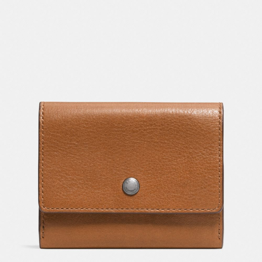 COIN CASE IN SPORT CALF LEATHER - Alternate View