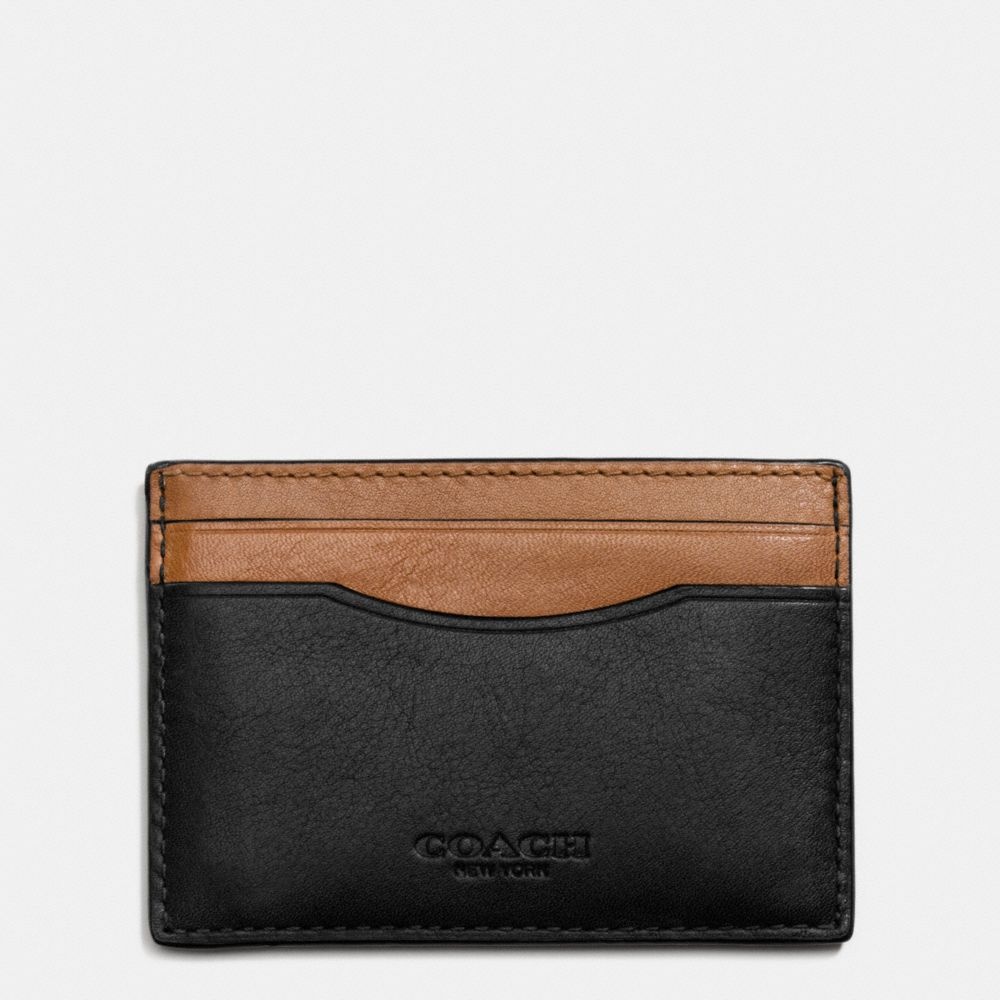 CARD CASE IN SPORT CALF LEATHER - Alternate View