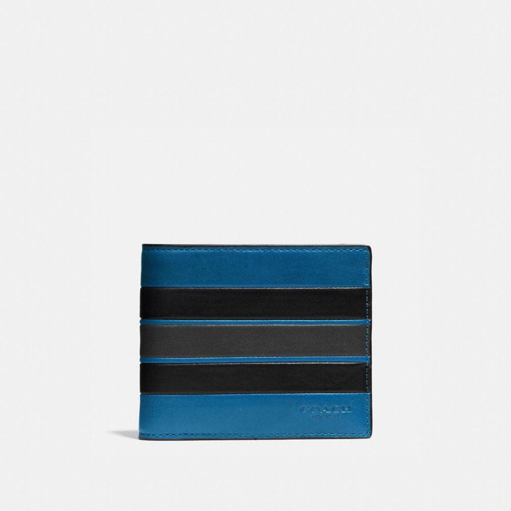 Coach 3-In-1 Wallet With Varsity Stripe