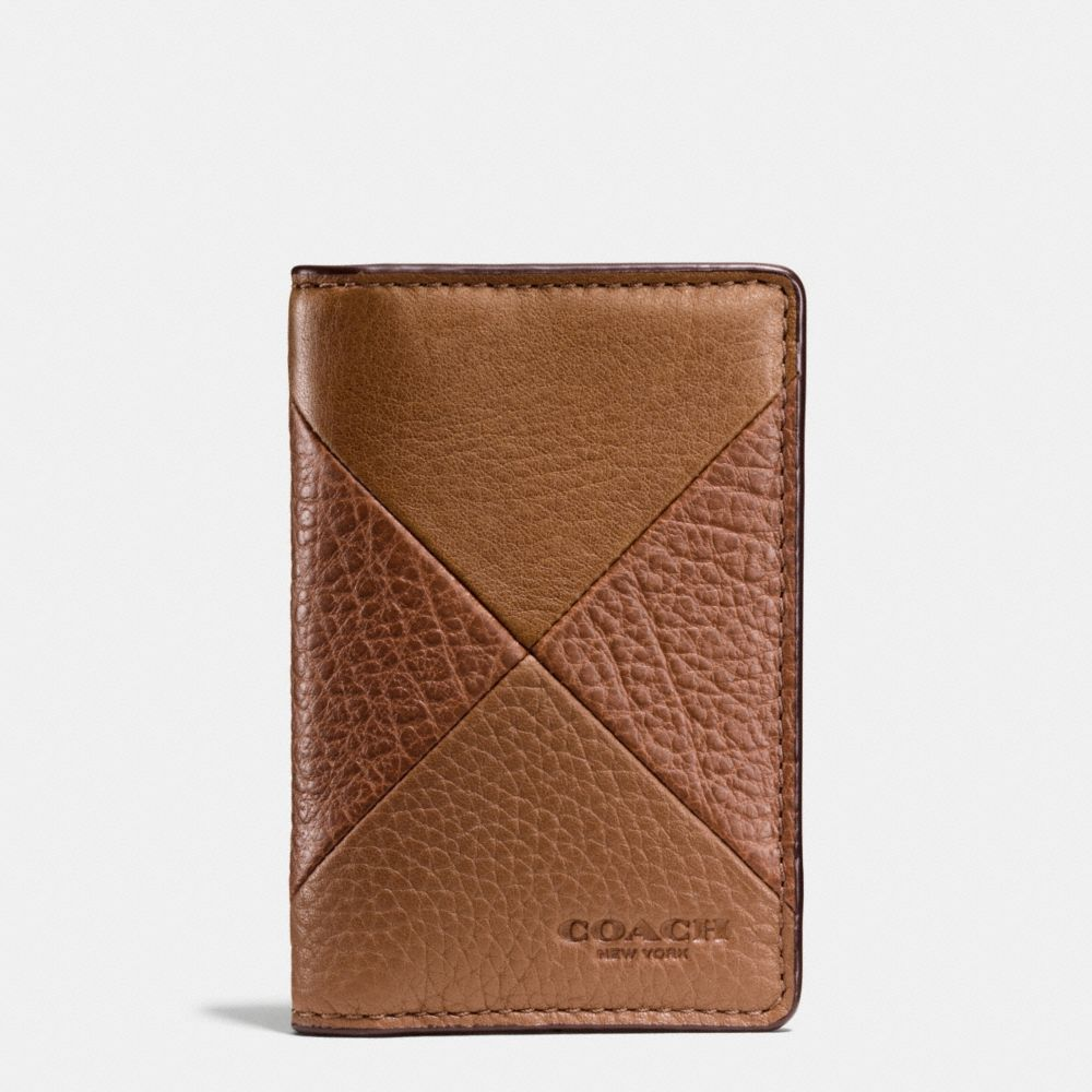 Card Wallet in Patchwork Leather