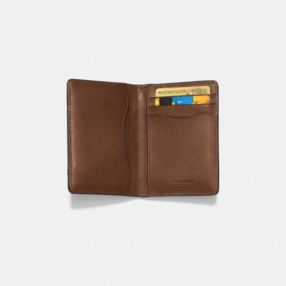 CARD WALLET IN PATCHWORK LEATHER - Alternate View