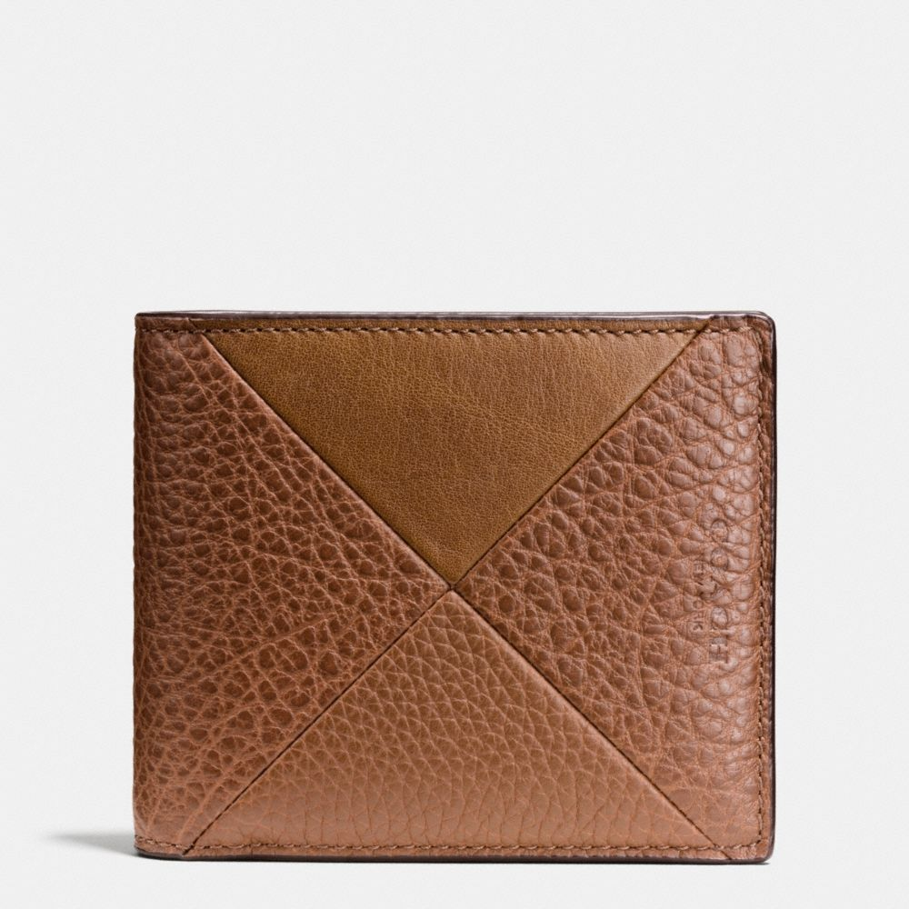 Coach 3-In-1 Wallet in Patchwork Leather