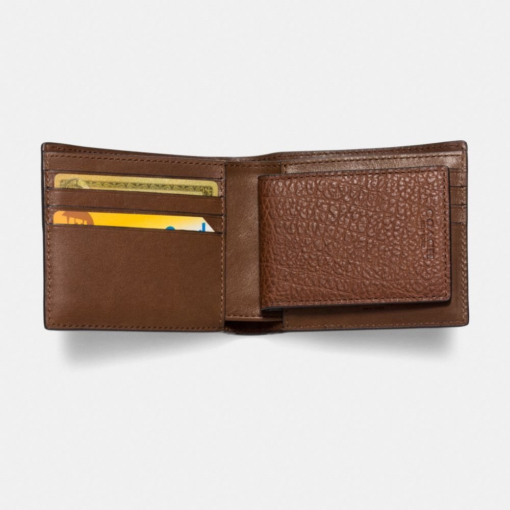3-In-1 Wallet in Patchwork Leather - Alternate View L1