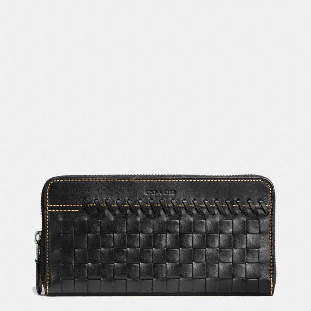 Coach Rip and Repair Accordion Wallet in Glovetanned Leather