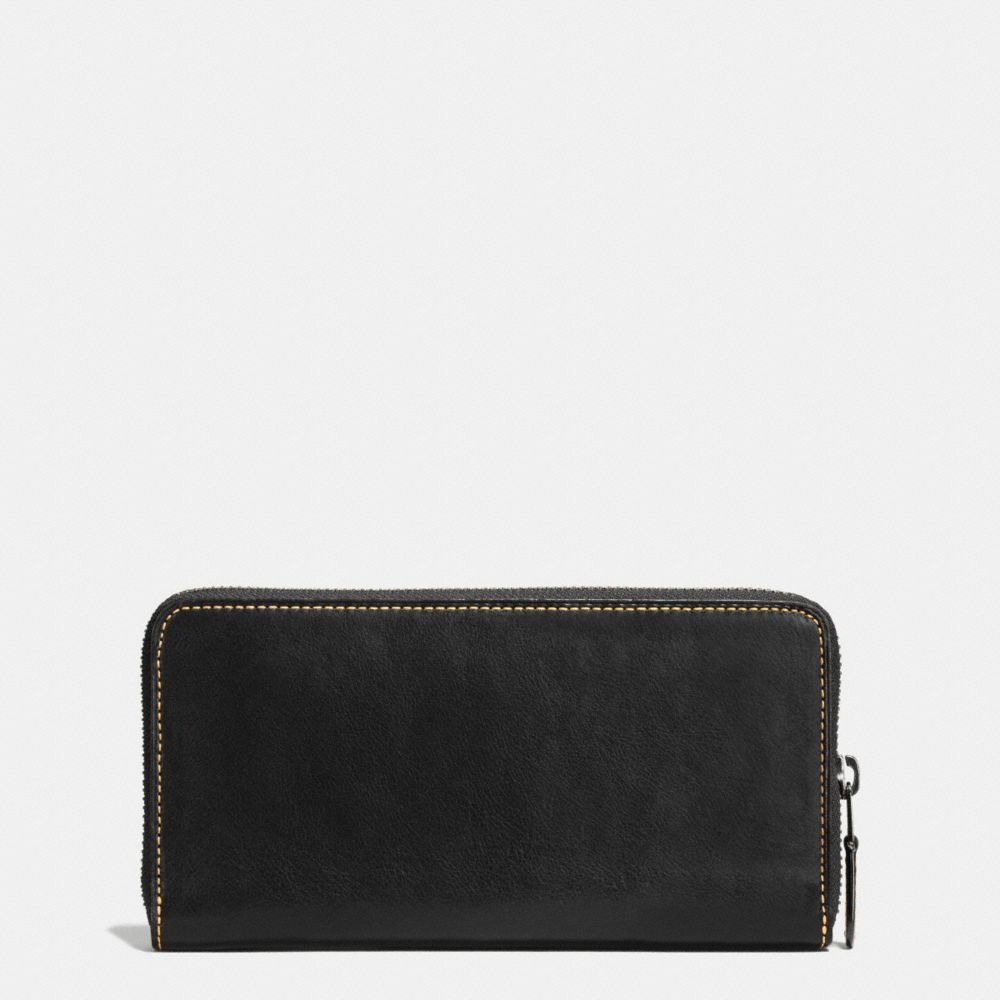 Coach Rip and Repair Accordion Wallet in Glovetanned Leather Alternate View 1