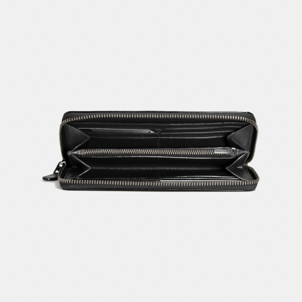 Coach Rip and Repair Accordion Wallet in Glovetanned Leather Alternate View 2