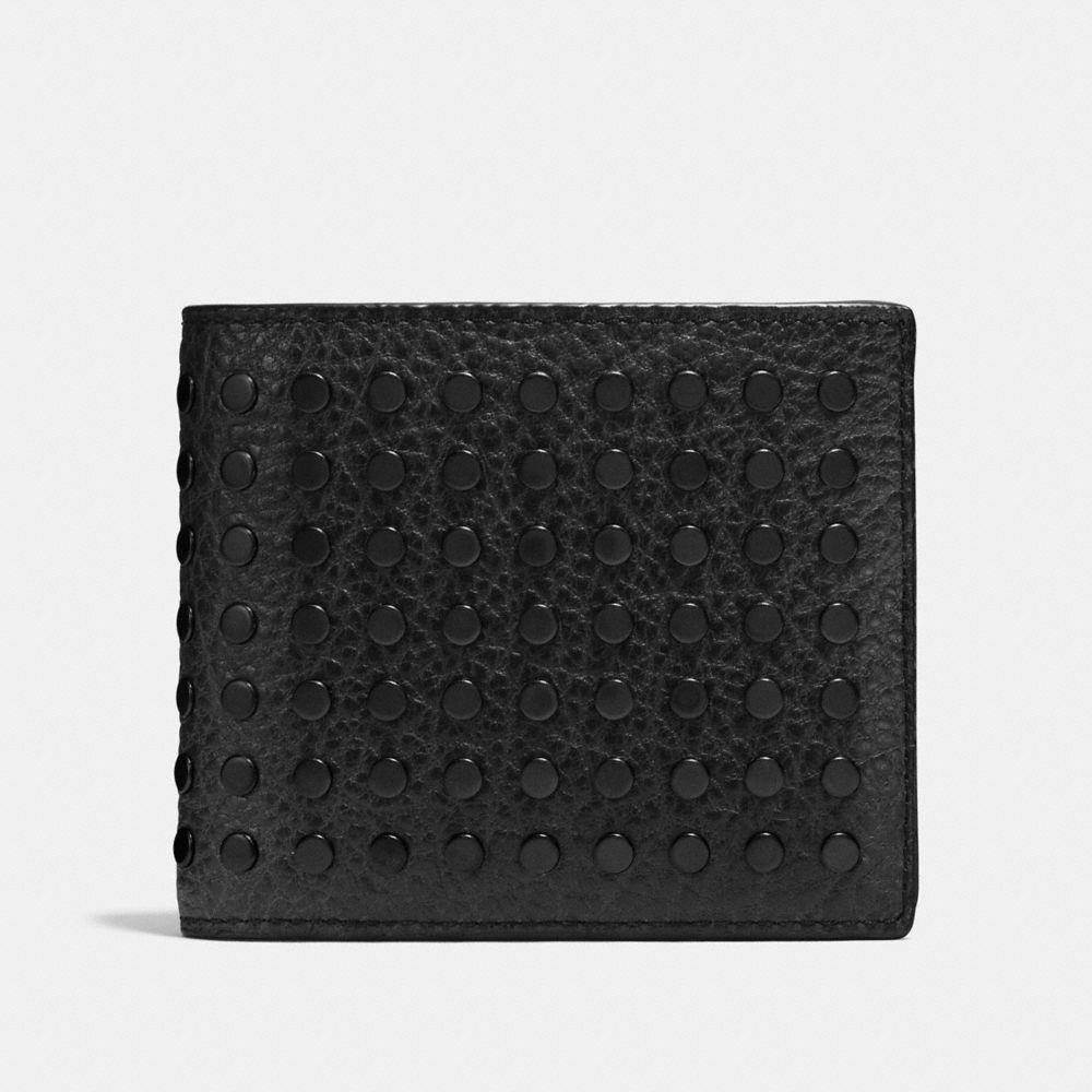 Studs 3-In-1 Wallet in Buffalo Leather
