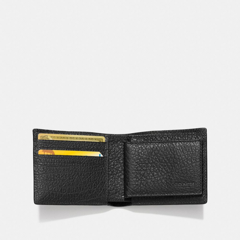 STUDS 3-IN-1 WALLET IN BUFFALO LEATHER - Alternate View