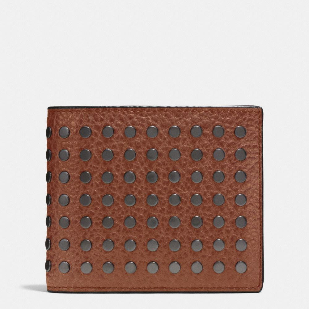 Studs 3-In-1 Wallet in Buffalo Leather