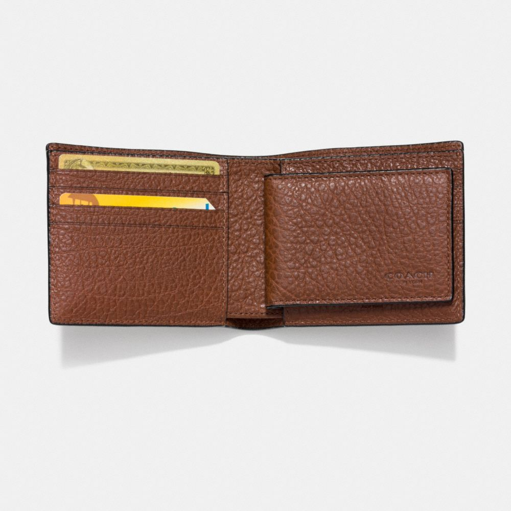 Studs 3-In-1 Wallet in Buffalo Leather - Alternate View L1