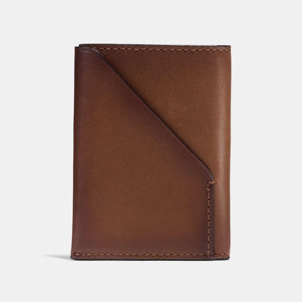Slim Card Wallet in Sport Calf Leather - Alternate View A1