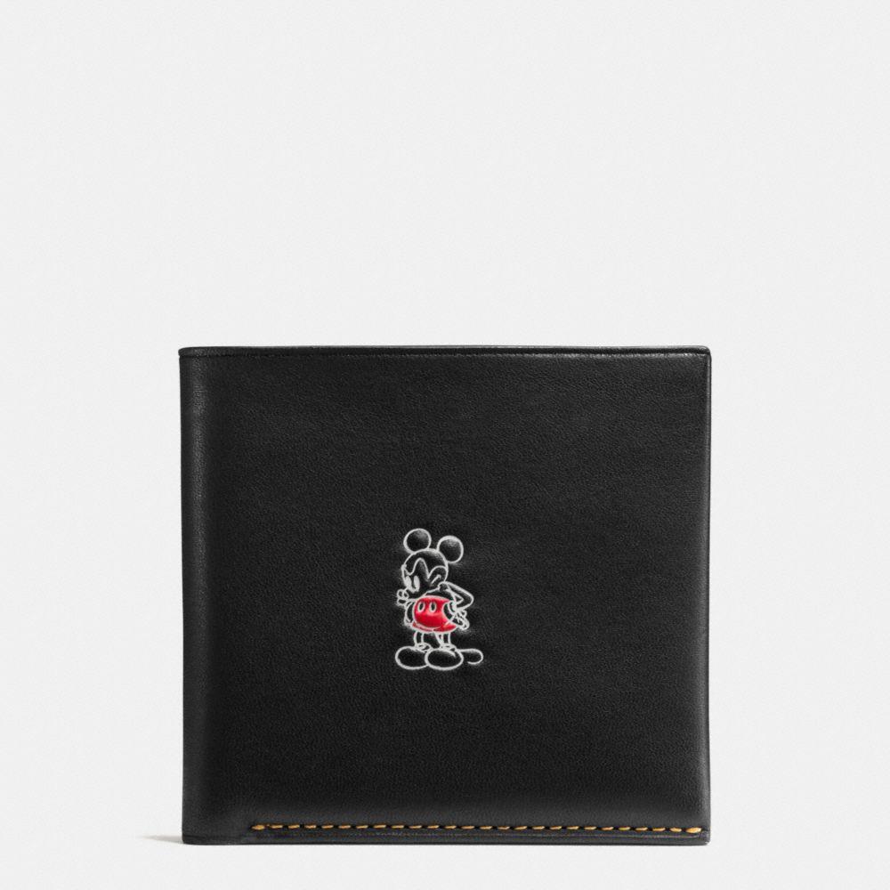 Mickey Double Billfold Wallet in Glovetanned Leather