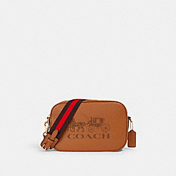 JES CROSSBODY - IM/LIGHT SADDLE - COACH 75818