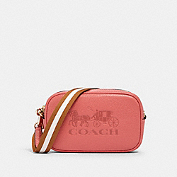 JES CONVERTIBLE BELT BAG - IM/BRIGHT CORAL - COACH 75952