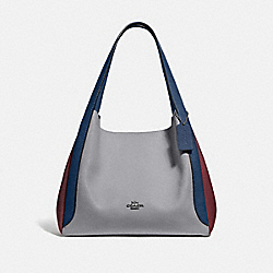 HADLEY HOBO IN COLORBLOCK - GM/GRANITE MULTI - COACH 76088