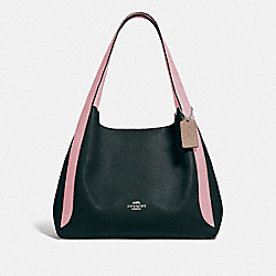 HADLEY HOBO IN COLORBLOCK - V5/PNE GRN AURORA MULTI - COACH 76088