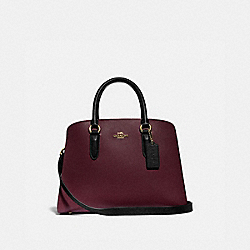 CHANNING CARRYALL IN COLORBLOCK - GOLD/VINTAGE MAUVE MULTI - COACH 76089
