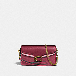 TABBY CROSSBODY IN COLORBLOCK - B4/DUSTY PINK MULTI - COACH 76199