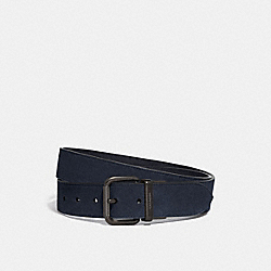 HARNESS BUCKLE CUT-TO-SIZE BELT, 38MM - MIDNIGHT - COACH 76431