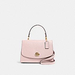 TILLY TOP HANDLE SATCHEL - IM/BLOSSOM - COACH 76618