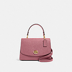 TILLY TOP HANDLE SATCHEL - IM/ROSE - COACH 76618