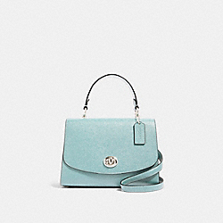 TILLY TOP HANDLE SATCHEL - SV/SEAFOAM - COACH 76618
