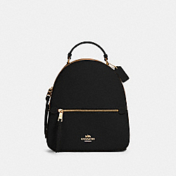 JORDYN BACKPACK WITH SIGNATURE CANVAS DETAIL - IM/KHAKI/BLACK - COACH 76622