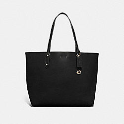 CENTRAL TOTE 39 - BLACK/GOLD - COACH 76730