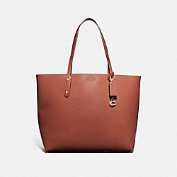 CENTRAL TOTE 39 - 1941 SADDLE/GOLD - COACH 76730
