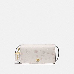 DISNEY X COACH DINKY WITH MIXED DALMATIAN PRINT - B4/CHALK - COACH 76759