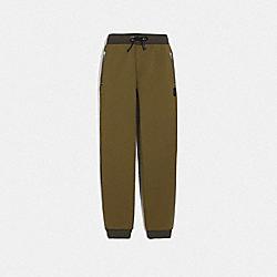 TRACK PANTS - OLIVE - COACH 76932