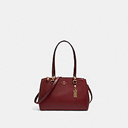 ETTA CARRYALL - IM/DEEP RED - COACH 76938