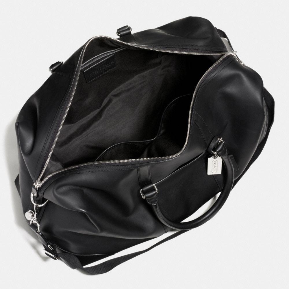 Transatlantic Travel Carryon in Leather - Alternate View