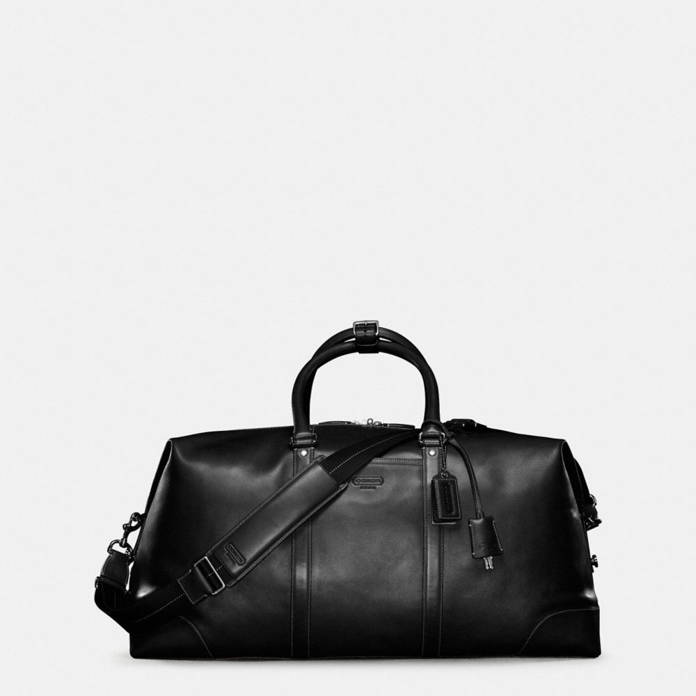 Transatlantic Travel Carryon in Leather